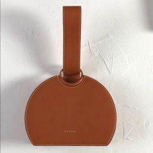 Polene Paris Camel Leather mini bag